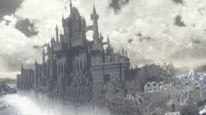 モノトーンお城