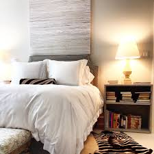 view in gallery zebra rugs and pillows add texture and pattern to the bedroom