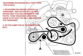 diy ac belt and tensioner engine belt and tensioner pulley if your x5 is early model 2000 2001 engine belt tensioner should be machanical tensioner my 2004 has hydraulic tensioner in the photo