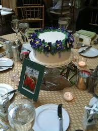 Really Neat Ideawedding Cake Centerpieces For Each Table The