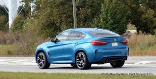 BMW Convertible bmw suv colors : 2015 BMW X6 M in Long Beach Blue Color - Real Life Photos