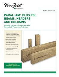 Parallam Beam Span Table New Images Beam