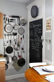 Diy Pegboard Kitchen Wall Storage