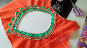Beautiful Blouse Neck Designs Images Pati Back Neck Design Cutting And Stitching Round Back Designs Beautiful Blouse Design At Home