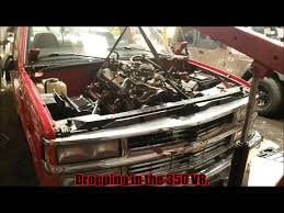 1998 Chevy C1500 4.3L to 5.7 Upgrade! (Build up vid) - YouTube