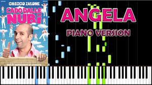 Angela - Checco Zalone - Piano Version *easy* (from Cado ...