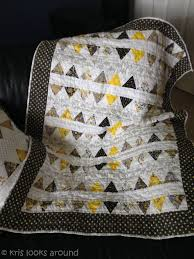 Grey and Yellow Quilt   KrisRunner & ... yellow and grey quilt-2 ... Adamdwight.com