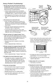 troubleshooting chamberlain whisper drive 248754 user manual page 36 44