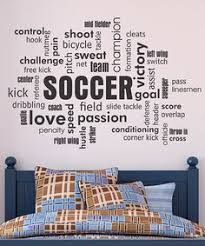 10 Boys Soccer Room Ideas Soccer room Word collage and Pallet art