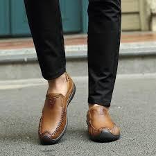 BIMUDUIYU Spring / Autumn Genuine <b>Leather</b> Business Casual ...