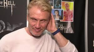 Dolph Lundgren Interview - spricht deutsch / speaks german at best WEEKEND  OF HELL Dortmund - YouTube