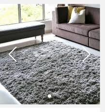 ikea gaser high pile rug grey