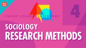 Sociological Research Sociology Research Methods Crash Course Sociology 4
