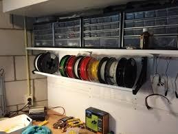 3d printed 3d filament holder wall
