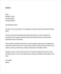 Letter Resignation 29 Resignation Letter Templates In Pdf Free Premium Templates