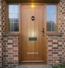entry doors with side windows. oak door swept head side windows entry doors with