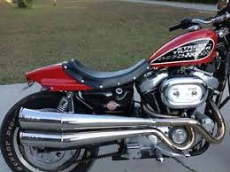 harley davidson sportster street tracker seat flat track seat