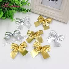 12 Stücke Gold Und Silber Christbaumschmuck Bogen Für