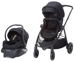 maxi cosi zelia travel system with mico 30 night black