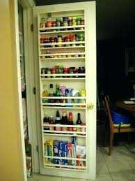over door storage rack kitchen over the door kitchen organizer and e rack on your pantry