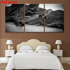 Skateboard Bedroom Decor Online Get Cheap Skateboard Wall Art Aliexpresscom Alibaba Group