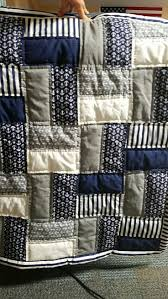 Best 25+ Baby boy quilts ideas on Pinterest | Baby quilts for boys ... & Easy free nautical baby crib quilt pattern in blue grey and white fabric.  Perfect for a baby boy nautical nursery room. Adamdwight.com