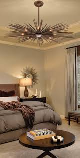 eclectic lighting. Eclectic Lighting In A Bedroom May Appeal To Modern Design.