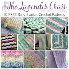 Crochet Patterns For Baby Blankets Awesome FREE Baby Blanket Crochet Patterns The Lavender Chair