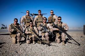 Marine Corps Scout Sniper United States Marine Corps Scout Snipers With Echo Company 2nd