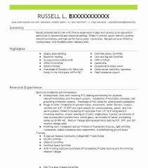 Pipefitter Resume Sample Sample Resume For Tradesmen Pipefitter