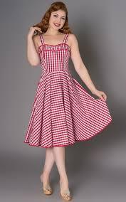 Sheen Clothing Summer Dress Angie Vichy