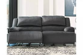 clonmel charcoal 2 seat power reclining
