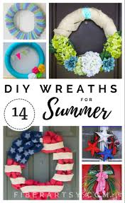 diy summer wreaths learn how to make a stunning summer wreath for your front door
