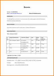 7 Bsc Nursing Resume Format For Freshers Weekly Template Word Pdf