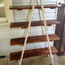 Shelves Made From Pallets Image Result For Diy Ladder Shelves Woodworking Projects
