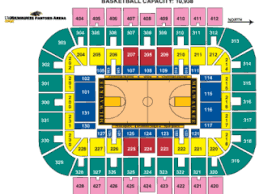 La Live Seating Chart Seating Charts Uw Milwaukee Panther Arena