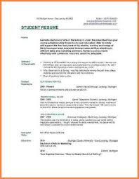 download professional cv template college student resume template download college student resume