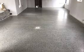 perfectly poured concrete slab suitable for polishing concrete polished to a platinum finish