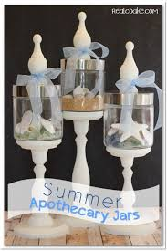 Apothecary Jar Decorating Ideas Summer Apothecary Jars Summer decorating Apothecaries and Jar 83