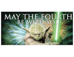 """Résultat de recherche d'images pour """"may the 4th be with you"""""""