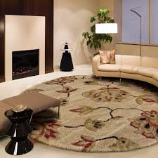rugs round cievi home strikingly inpiration perfect ideas orian como bisque area rug dining room throw depot s12 round