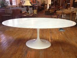 Oval Kitchen Table Sets White Oval Dining Room Table Collective Dwnm