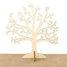 unique earring holder wooden jewelry tree stand organizer wood earning display gift for girlfriend bathrooms in