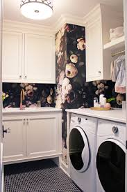 Laundry Room Wallpaper Designs Swoon Worthy Laundry Room Design By Ohara Interiors