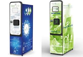 Reverse Vending Machine Recycling Adorable Bee'ah Installs First Reverse Vending Machines