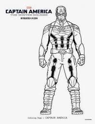 Free Captain America The Winter Soldier Coloring Sheets Kids