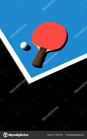 Design Table Tennis Table Tennis Or Ping Pong Racket And Ball Tournament Poster