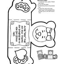 Thank You Card Coloring Pages Thank You Cards 20 Color Free