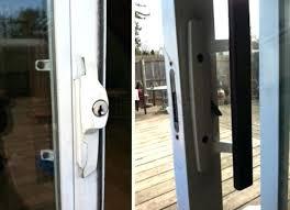 sliding glass door lock bars key locks pella