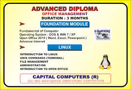welcome to capital computers 22 advance diploma in computer office management adcom duration 3months